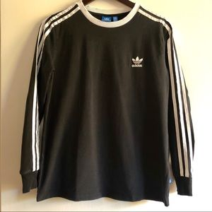 Adidas Original Jersey Long Sleeve Black T, L